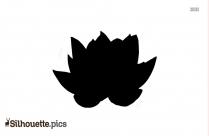 Beautiful Flower Lotus Silhouette