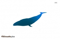 Transparent Whale Silhouette Image
