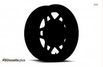 Tesla Model Wheel Silhouette