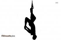 backbend yoga pose picture silhouette