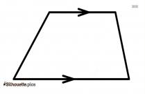 Oval Shape Silhouette Image, Geometric Figures Icon
