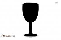Wine Glass Silhouette Picture