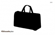 Shopping Bag Silhouette Free Vector Art