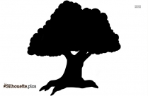 Papaya Tree Clipart Silhouette, Fruit Tree Clipart