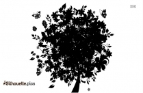 Tree Without Branches Vector Image