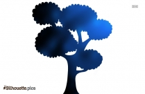 Cartoon Tree Silhouette Image And Vector Illustration For Free
