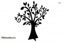 Free Tree Design Silhouette