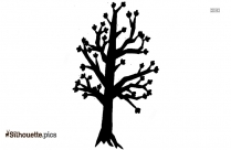 Tree With Roots Silhouette Art