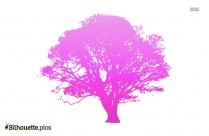 Fall Tree Silhouette Illustration