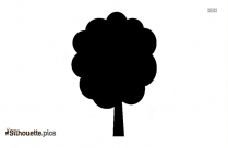 Palm Tree Silhouette Drawing, Clipart