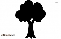 Free Summer Tree Silhouette