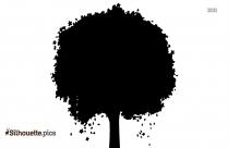 Winter Trees Silhouette