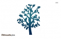 Spring Tree Silhouette Image And Vector