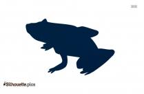 Amphibian Tree Frog Clipart Silhouette