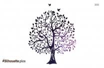 Tree Of Life Symbol Silhouette