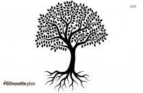 Tree Of Life Silhouette Background