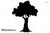 Tree Leaf Silhouette