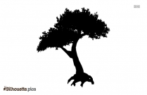Big Tree Silhouette Art