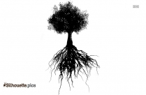 Autumn Tree Silhouette Image And Vector