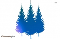 Pine Tree Silhouette Image And Vector Download