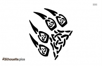 Simple Tribal Butterfly Drawings Silhouette