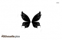 Tribal Butterfly Silhouette