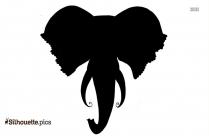 Elephant Icon Silhouette
