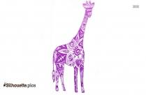 Giraffe Clip Art Silhouette Image