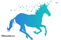 Fire Horse Design Silhouette