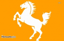 Tribal Horse Silhouette Images