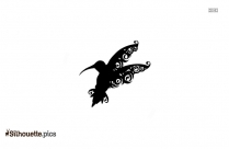 Tribal Butterfly Drawings Silhouette