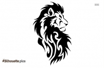 Tribal Lion Tattoo Designs Silhouette