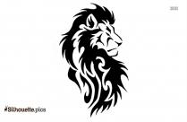 Tribal Lion Tattoo Designs Silhouette