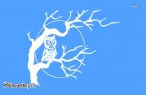 Tribal Owl Tattoo Silhouette