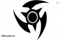 Tribal Tattoo Clip Art Vector Silhouette