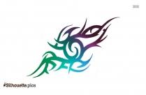 Tribal Tattoo Design Clipart | Tribal Snake Tattoo