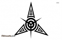Tribal Tattoos Vector Drawing Silhouette