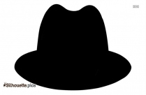 Free Trilby Hat Silhouette