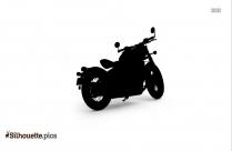 Triumph Bonneville Bobber Bike Silhouette