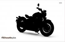 Triumph Bonneville Bobber Bike Silhouette Image