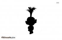 Trolls Poppy Etsy Silhouette Art