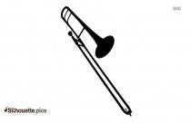 Trombone Outline Silhouette