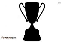 Trophy Cup Silhouette Image And Vector