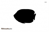 Aquatic Fish Clipart Silhouette