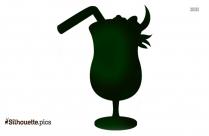 Margarita Cocktail Drink Silhouette