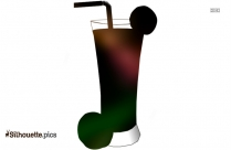 Cocktail Clipart Silhouette