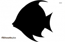 Fish Emoji Silhouette Icon
