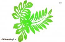 Leaf Logo Silhouette Illustration