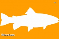 Cichlid Fish Vector Silhouette
