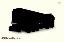 Vintage Car Silhouette Image